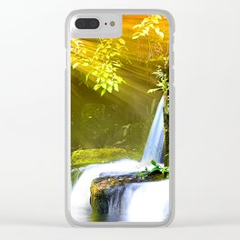 Dancing with the Nature Clear iPhone Case