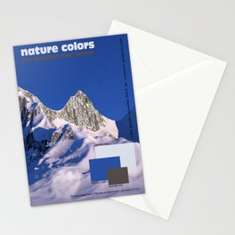 nature colors calendar January 2014 Stationery Cards