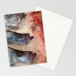 Harbor Fish Portland Maine Stationery Cards