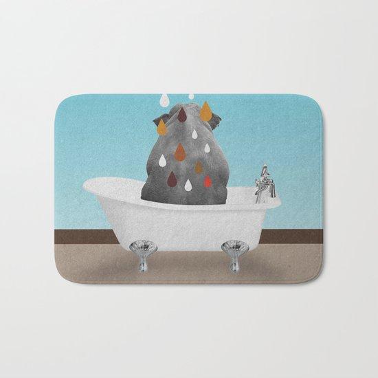 SHOWER CURTAIN Bath Mat