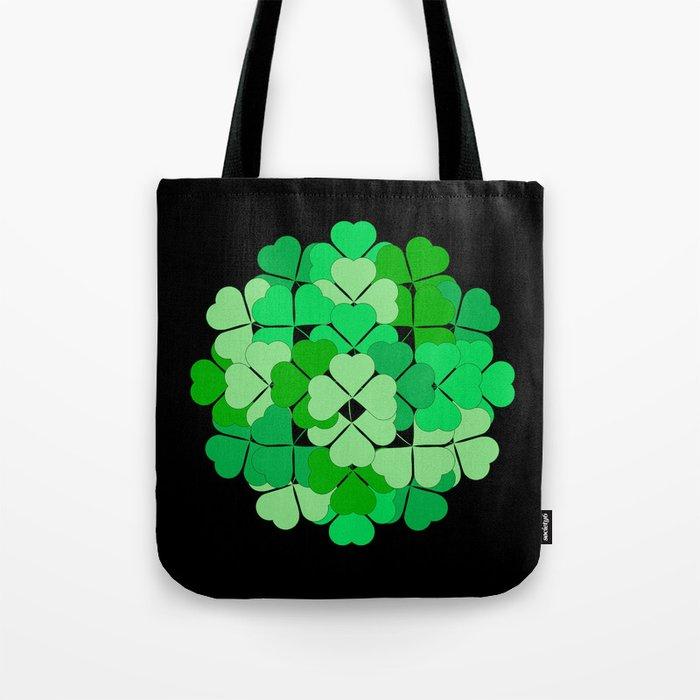 Lucky shamrocks Tote Bag