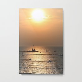 Erie Shore... Metal Print