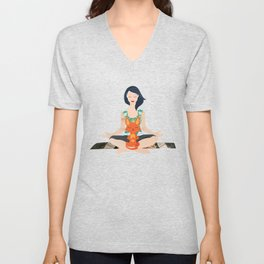 Yoga partners Unisex V-Neck
