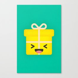 Party Present Canvas Print