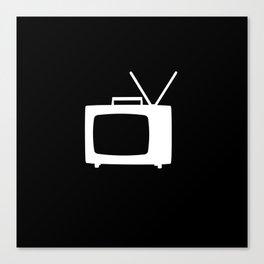 TV Canvas Print