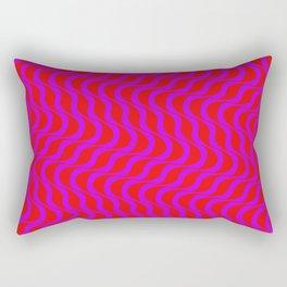Waves - Burn 01 Rectangular Pillow