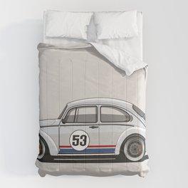 Legendary Custom Herbie 53 Bug Vintage Retro Cool German Car Wall Art and T-Shirts Comforters