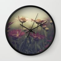 aperture Wall Clocks featuring I know we could be so happy baby by Rachel Bellinsky