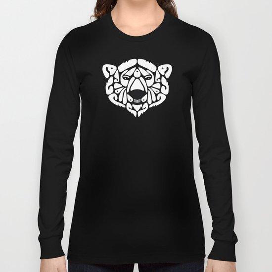 An Béar Bán (The White Bear) Long Sleeve T-shirt