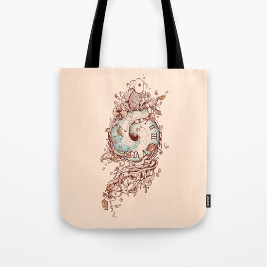A Temporal Existence Tote Bag