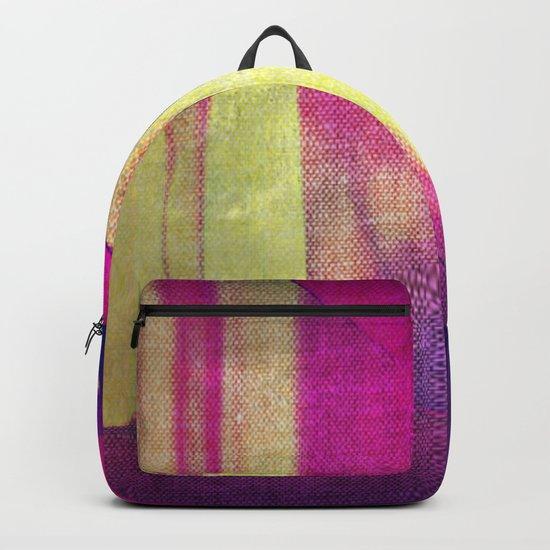 Amber: Fabric Backpack