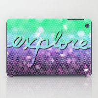 explore iPad Cases featuring explore by Lisa Argyropoulos