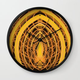 Icthus Abstract DPA160310a-14 Wall Clock