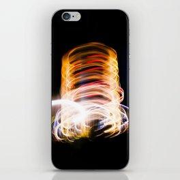 light me up iPhone Skin