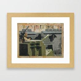 The Taking of Berlin Framed Art Print