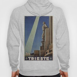 Trieste art deco Italian travel ad Hoody