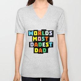 Dad Unisex V-Neck