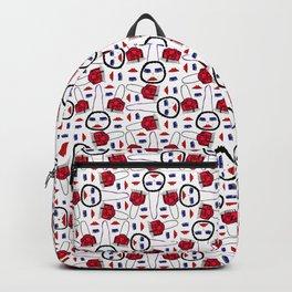 Multi handbag obsession print Backpack