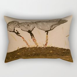 Human Being Origin Rectangular Pillow