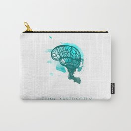 Think Abstractly Carry-All Pouch