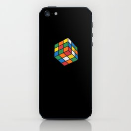 Just rubik iPhone Skin
