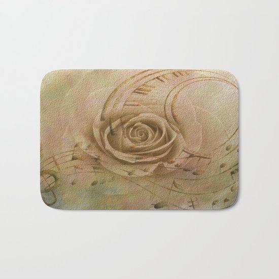 Timeless Love Abstract Bath Mat