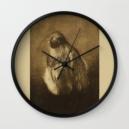 Silkie Rooster Wall Clock