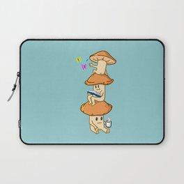 A Mushroom Cluster's Everyday Life Laptop Sleeve