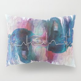 Heartbeat Drama Pillow Sham