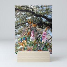 Neptune Rides Mini Art Print