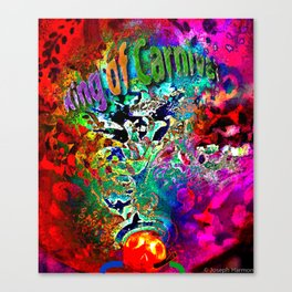 King of Carnival Canvas Print