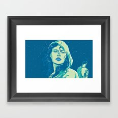 When The Night Comes Framed Art Print