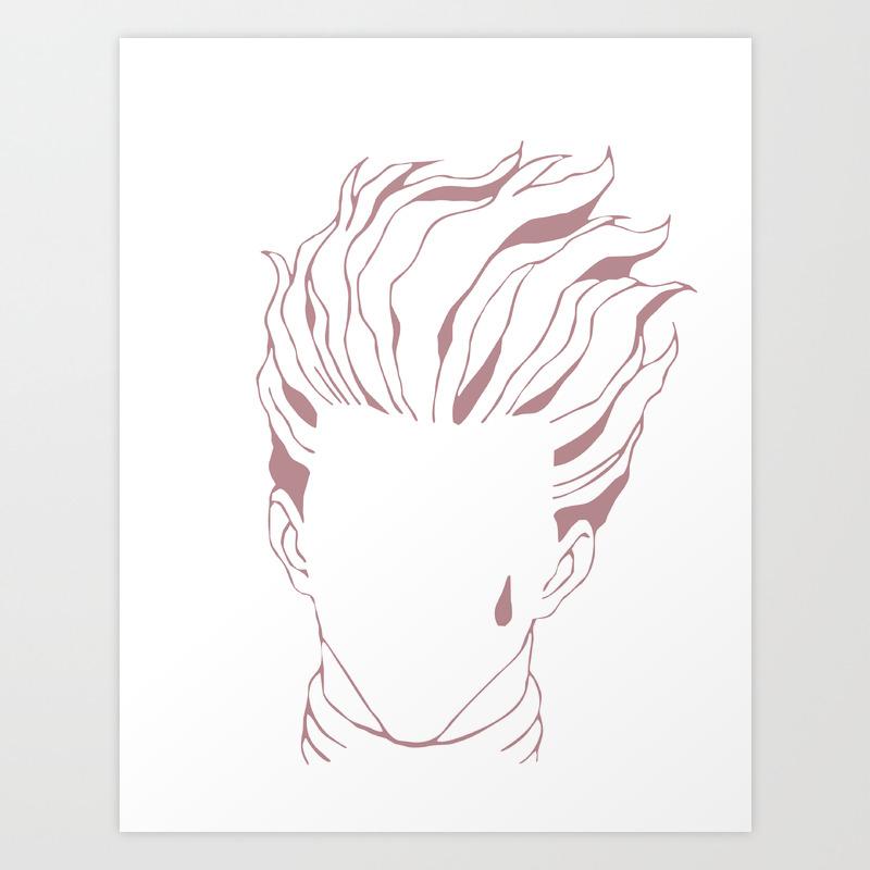 Hisoka Hunterxhunter Art Print By Orsociock Society6