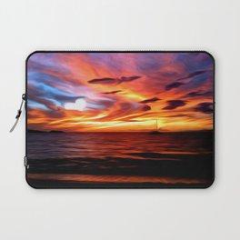 Honeymoon Sunset Laptop Sleeve