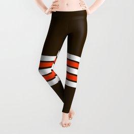 Cleveland Strips Leggings