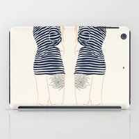 stripes iPad Cases featuring Stripes by Elly Liyana