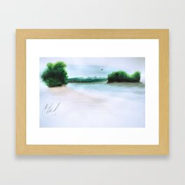 The Middl Grounds Framed Art Print