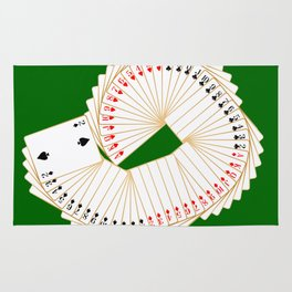 Playing Card Spread Rug