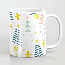 Abstact Holiday Pattern Coffee Mug