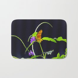 Orange Beauty Bath Mat