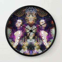Shanti Om Wall Clock