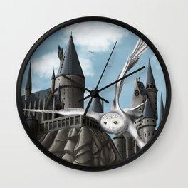 Hedwig's flight Wall Clock