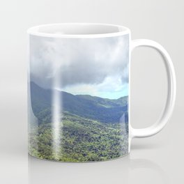 East peak view from Mt Britton at 3,000 feet - El Yunque rainforest PR Coffee Mug