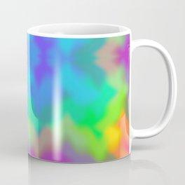 Rainbow Multicolored Watercolor Abstract Tie Dye Coffee Mug