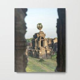 Temple Fever in Angkor Wat, Cambodia  Metal Print