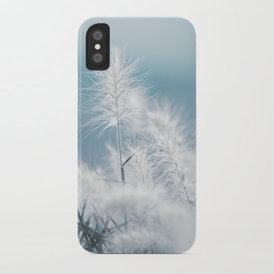 the art of a soft landing iPhone Case