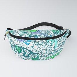 Kamasutra LOVE - Sea Blue Green Turquoise Min Fanny Pack