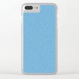 Aqua Blue Mezzo Tint Effect #blue #homedecor #abstract #art Clear iPhone Case