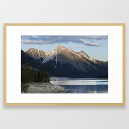 Scenic Mountain Photography Print Framed Art Print