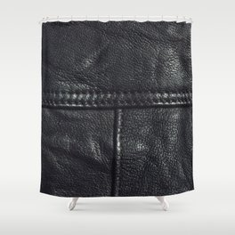 Leather texture Shower Curtain